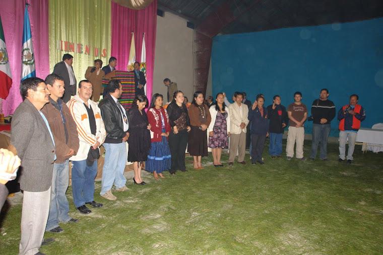 NUevas Delegaciones de la ARRPRECH Huehuetenango, Quetzaltenango, El Quiché y la Capital Guatemala