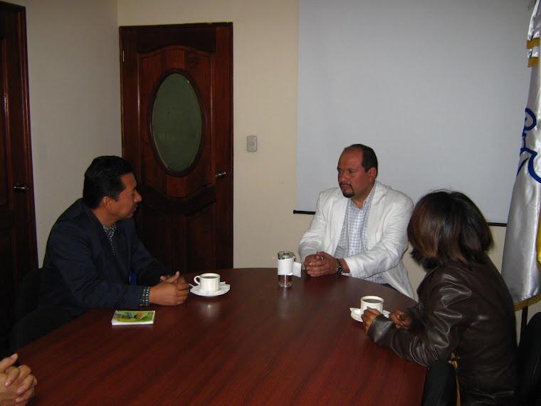 Orlando Blanco Lapola Secretario de la Paz en Guatemala, confirma su participación en actividades d
