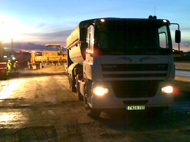 Transportes J.J. Garcia Trabajos en Gibraltar