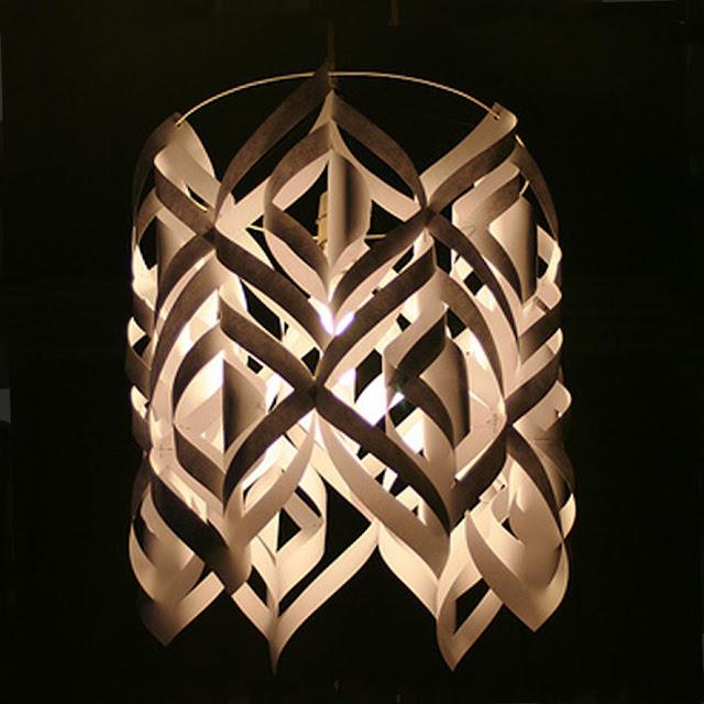 Remodelaholic craft aholic diy designer lamp shade - Cool lamp shade ...