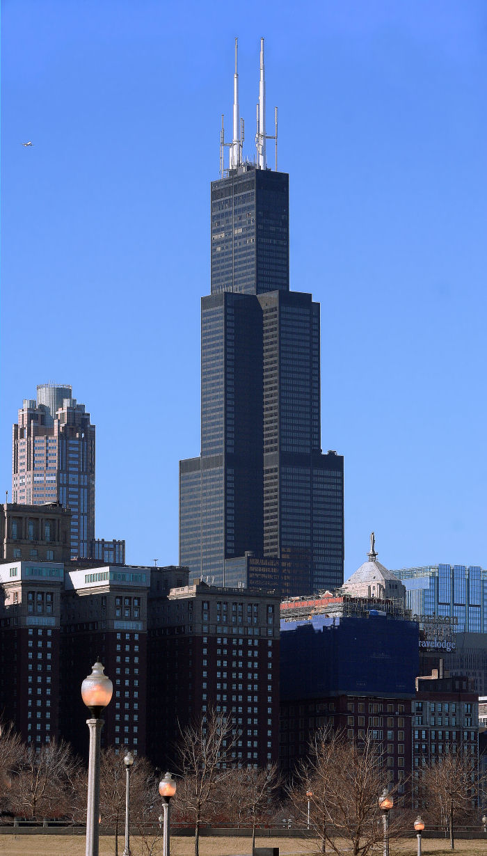 Willis Tower / Sears Tower  [More than 50,000 unique views]