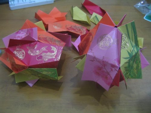 how to make a chinese lantern ball