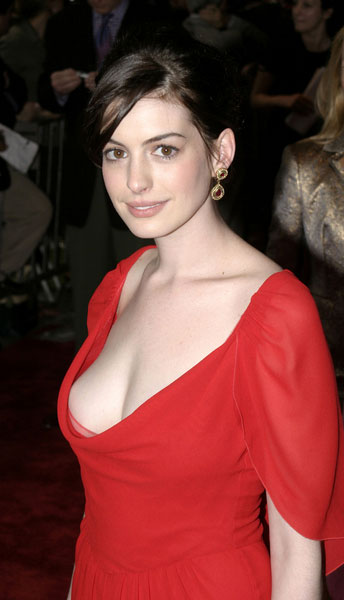Anne Hathaway is apparently too famous to do nude scenes.
