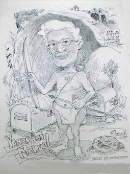 Caricatura Yanomami Manuel
