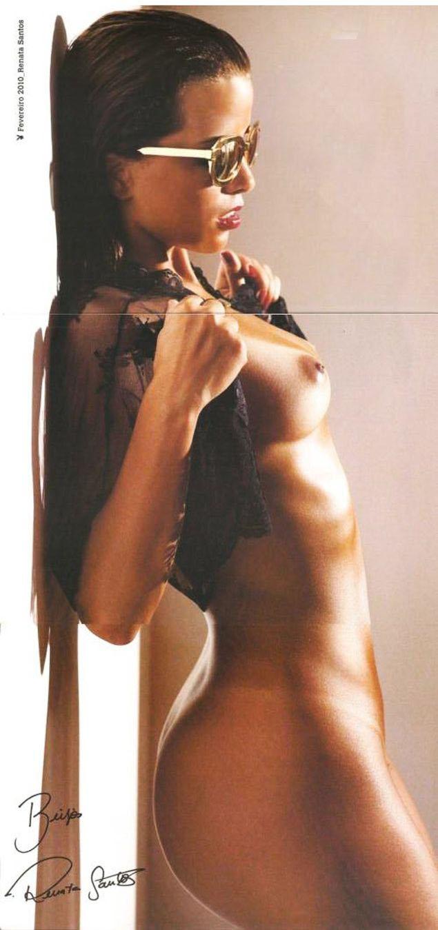 Da Playboy Renata Santos Fevereiro De Fotos Rena Nua