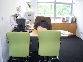 my new spanking office