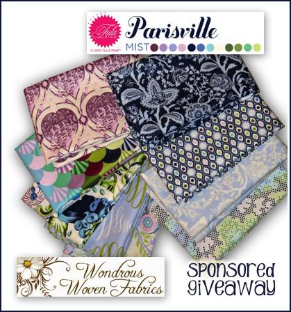 12 yard Spencer Stripe in Silk Parisville Tula Pink