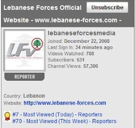 The Lebanese Forces Official Youtube Channel