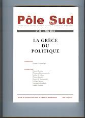 La Grece du politique
