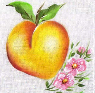 pintura em tecido pêssego passo a passo como fazer