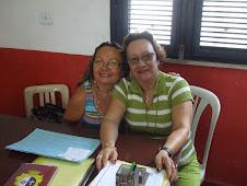 A Secretaria da Escola Emília Freitas, Socorro Nogueira