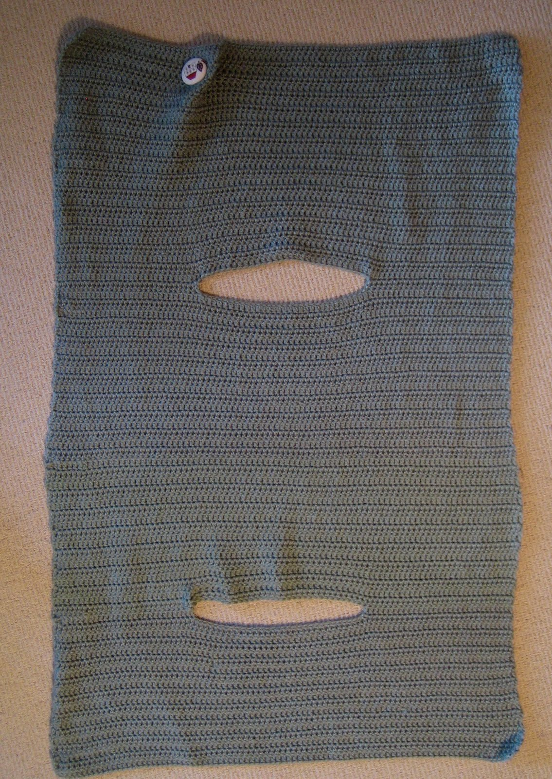 Instructions For Crochet Wrap Vest