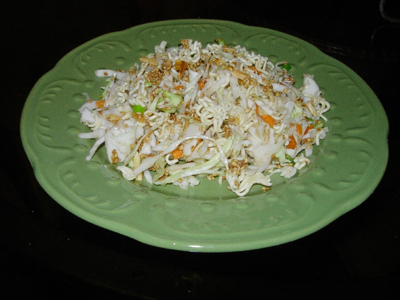 Positively Crochet!: Recipe - Crunchy Asian Salad