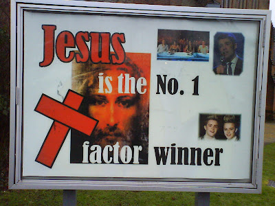 Jesus has the X Factor