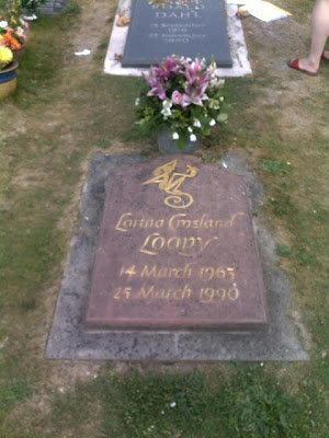 Grave of Lorina Crosland