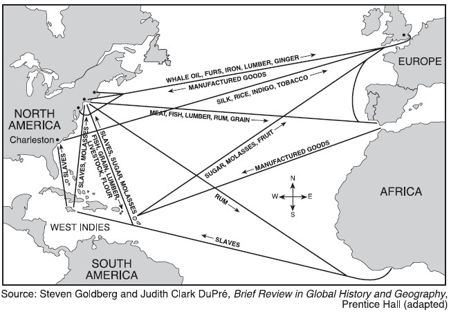 atlantic system trade products The transatlantic slave trade had three stages:  later, on the west african  coast, these goods would be traded for men, women and children who had been .