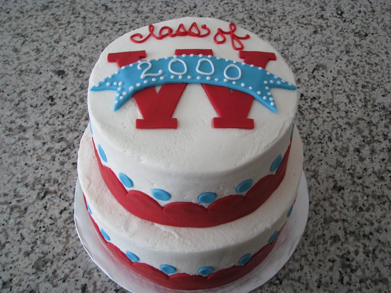 Sugar Prince: Western High School 2000 Reunion Cake