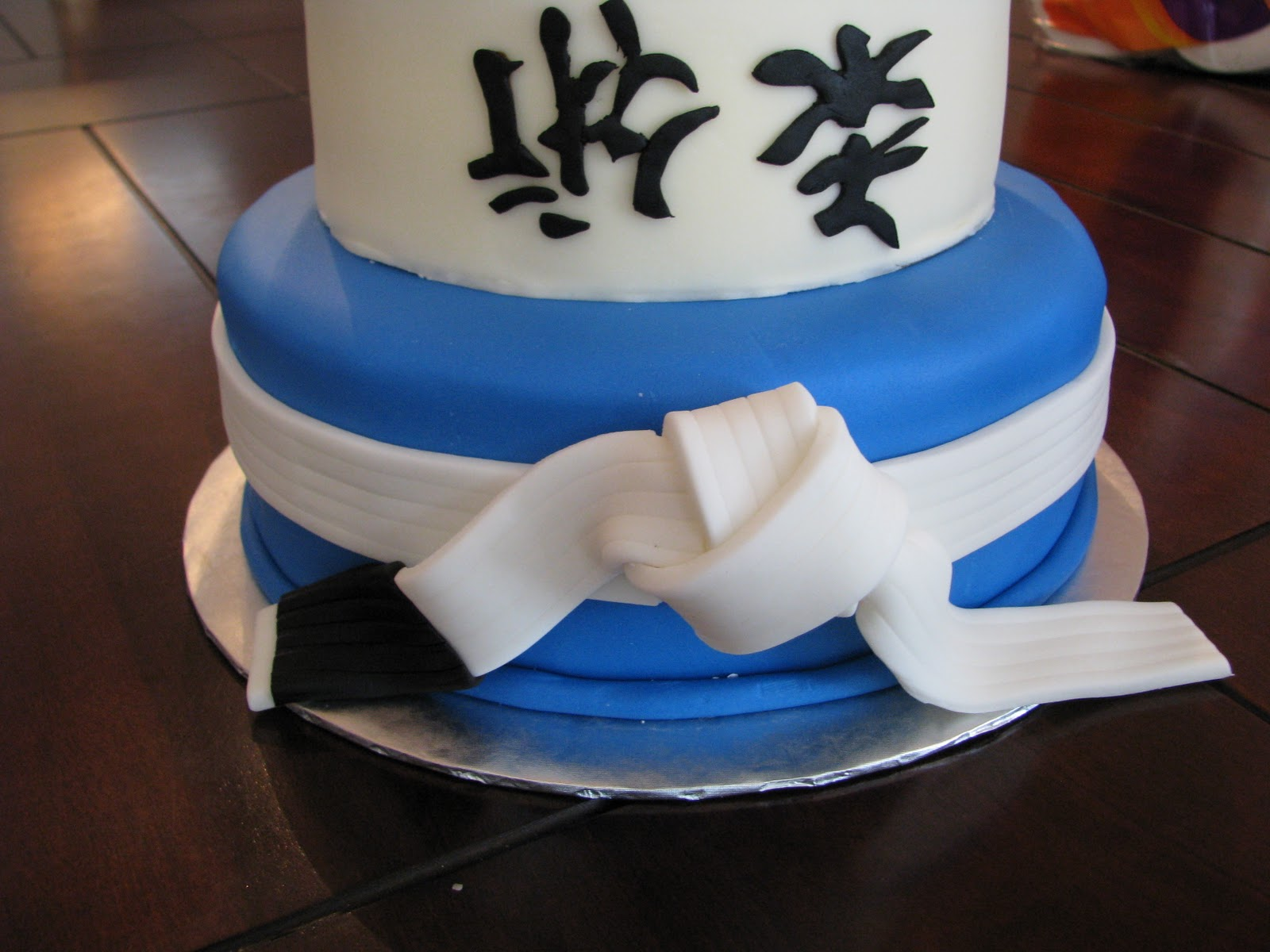 Drues Mixed Martial Arts Birthday Cake