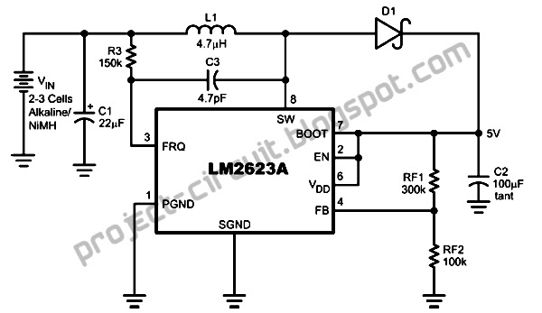 electronics technology  boost converter circuit for