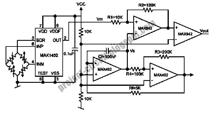 electronics technology  wheatston bridge pwm signal