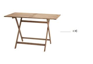 Mesas para exterior baratas menos de 50 for Mesas exterior baratas