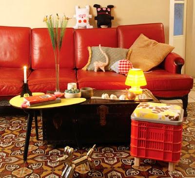 Muebles con cajas de frutas - Muebles para frutas ...
