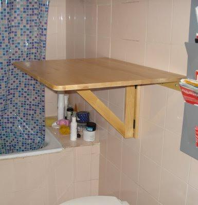 Nuevos usos una mesa abatible como cambiador de beb s for Peso de cocina ikea