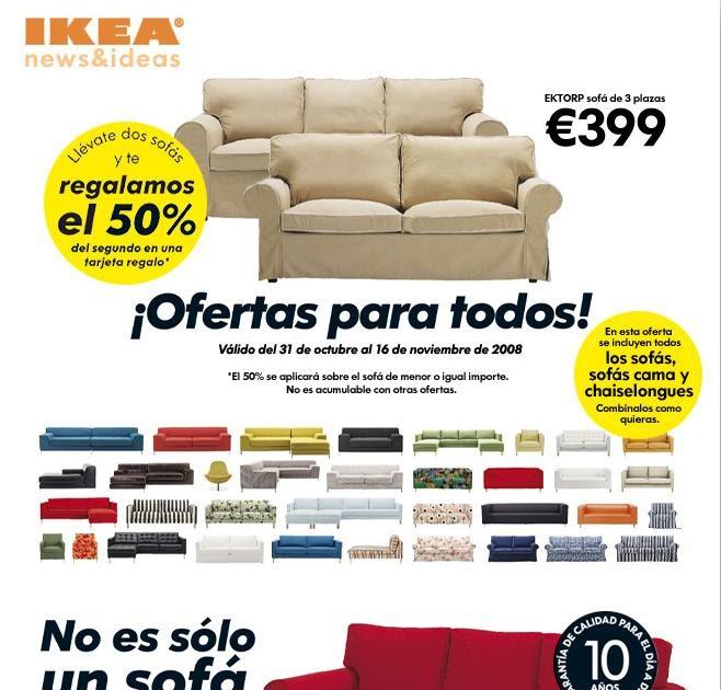 Oferta Ikea Ll Vate Dos Sof S Y Te Regal N El 50 Del