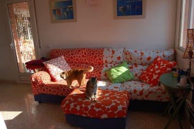 Ikea hack fundas de sof s ikea - Hacer una funda de sofa ...