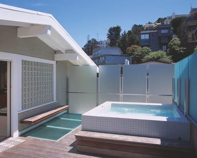 Una mini piscina en la terraza deco for Mini piscinas para terrazas
