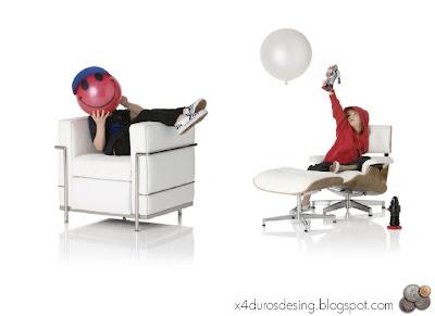 Cl sicos del dise o para ni os sillas modernas for Butacas modernas baratas