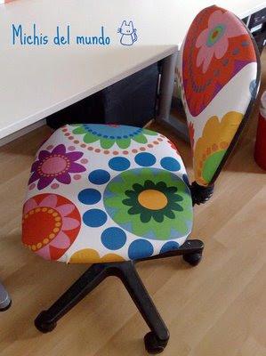 Antes y despu s tapizado de una silla - Como tapizar una butaca ...