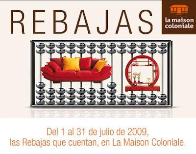 Rebajas la maison coloniale for La maison coloniale soldes