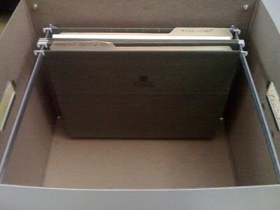 Caja de archivo personal - SHOROBAN SL - CALIPAGE