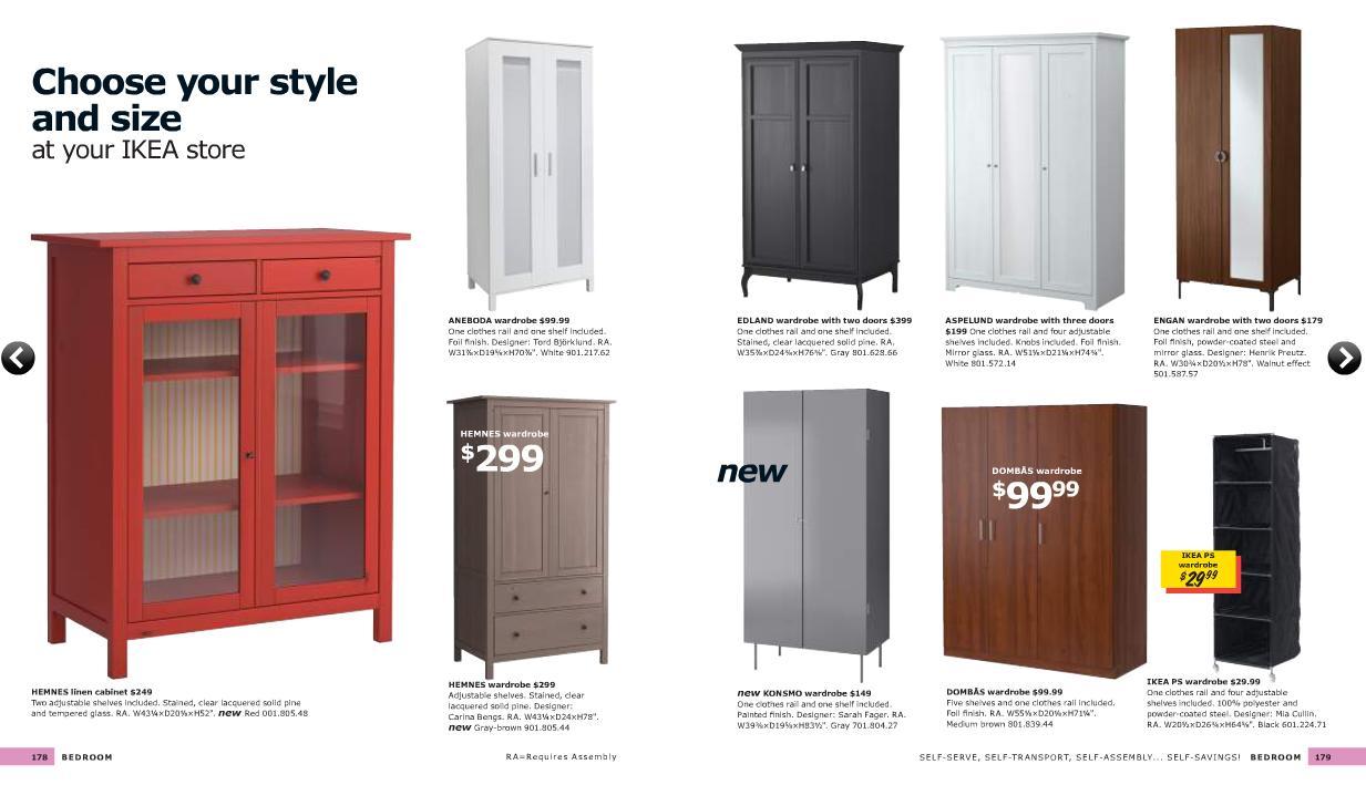 Catalogo ikea 2011 al completo dormitorios for Ikea armarios dormitorio catalogo