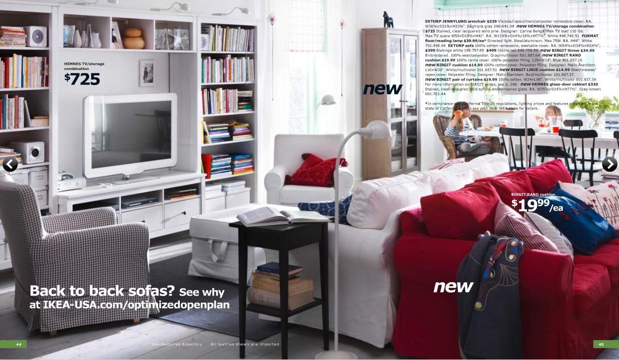 Catalogo ikea 2011 on line AL COMPLETO!! Salones