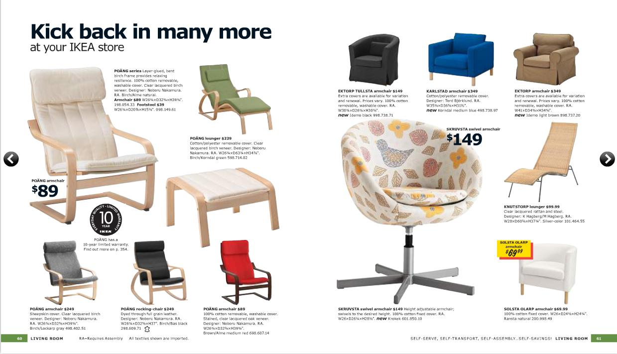 Catalogo ikea 2011 on line al completo salones - Ikea bologna catalogo on line ...
