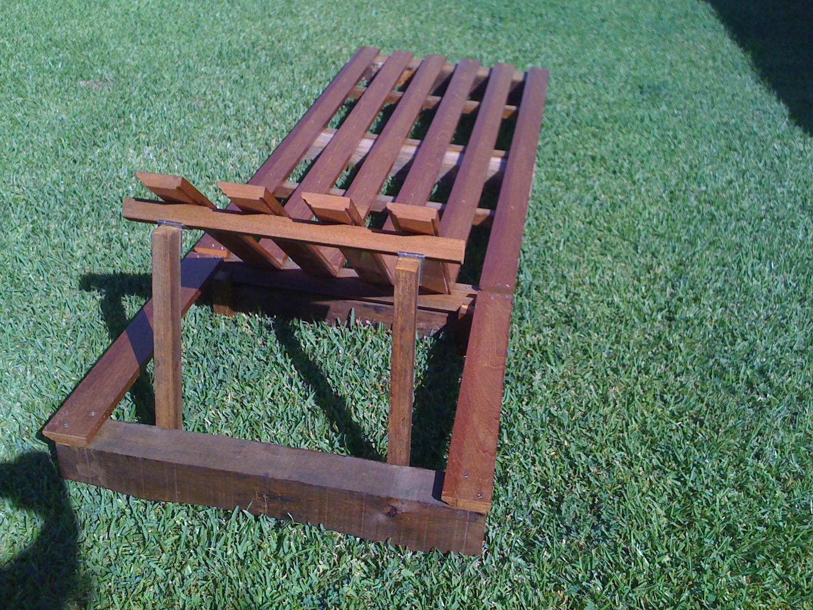 La tumbona de restos de mobiliario de alex - Tumbonas de madera ...
