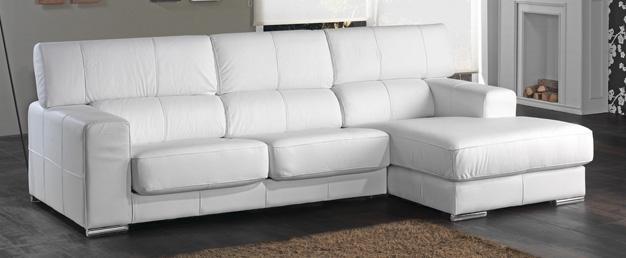 Sof de piel blanca para ni os t preguntas en baby deco - Sofa piel blanco ...