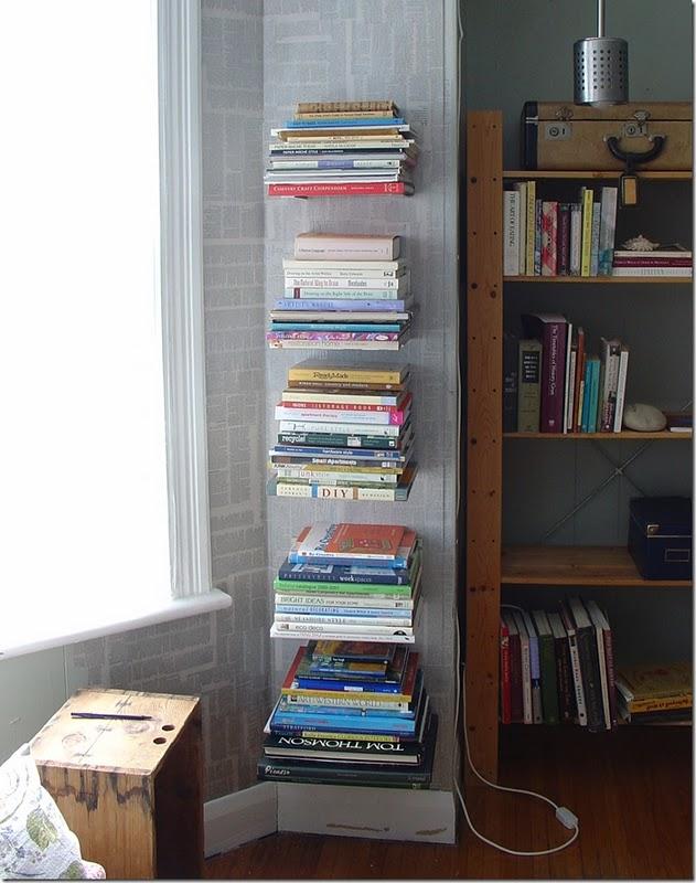 Estanteria de libros flotantes - Estanteria libros ...