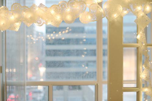 Ideas navidad guirnalda de luces y papel - Guirnaldas de luces ...