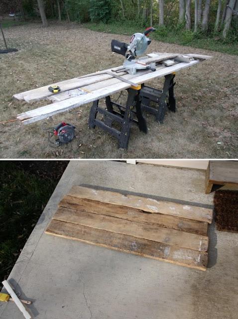 Diy cabecero con tablones de madera - Tablones de madera baratos ...