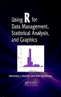 Using R for Data Management, Statistical Analysis and Graphics soon to start shipping