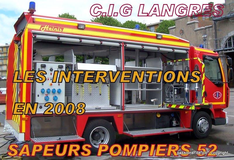 Sapeurs pompiers 52 janvier 2011 for Garage flagez montigny le roi incendie