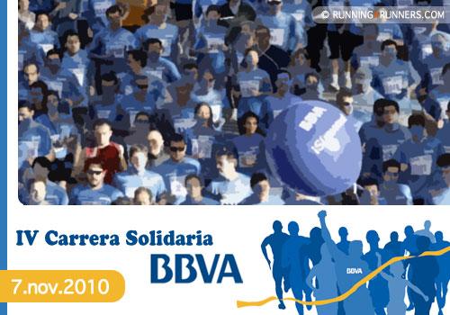 Carrera solidaria BBVA 2010