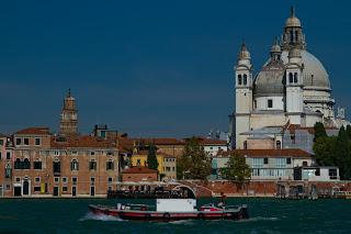 >Santa Maria della Salute photographed from a Vaporetto