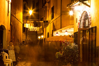 An Evening in Trastevere - Rome, Italy