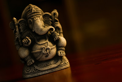 A statue of Ganesh title=