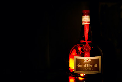 Setup shot for Grand Marnier
