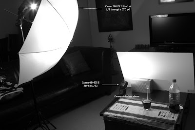 Coke - Setup shot